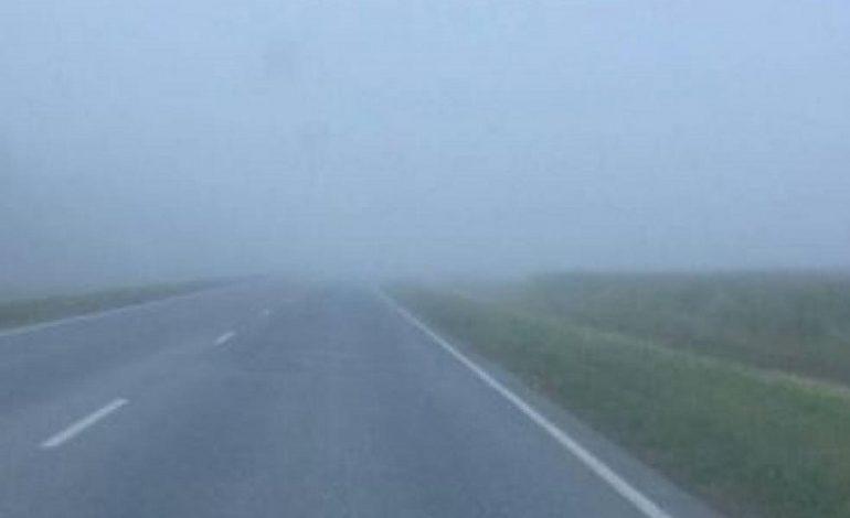 ГСЧС предупреждает о тумане на дорогах