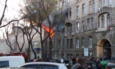 В Одессе назвали число жертв в результате пожара в экономическом колледже