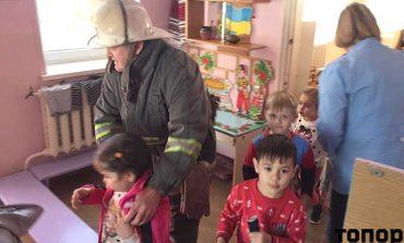 В Болграде спасатели пришли к дошкольникам