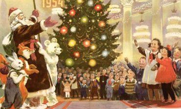 Новогодние праздники в истории Одессы