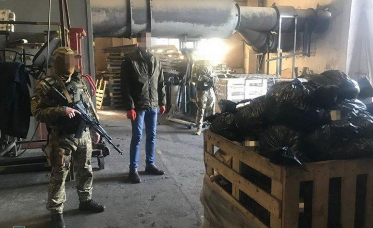 В Одессе утилизировали наркотики на 100 миллионов долларов