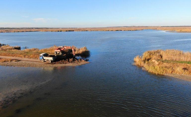 На реках Сарата, Когильник и Кагач ликвидировали десяток старых плотин