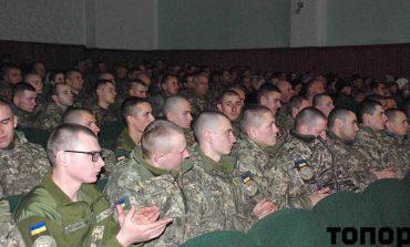 В Болграде поздравили военных