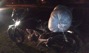 В Ровенской области мужчина перевозил 40 кило янтаря на мопеде