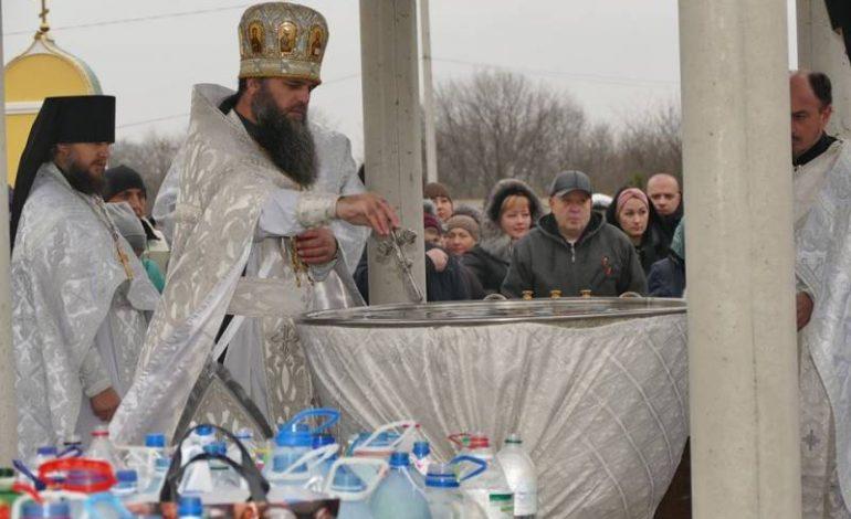 В Измаиле празднуют Крещение Господне