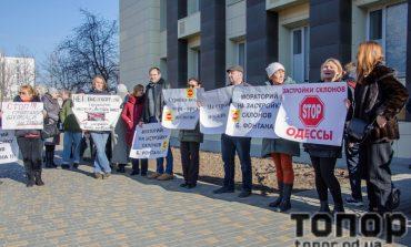 В субботу одесситы вышли на акцию протеста