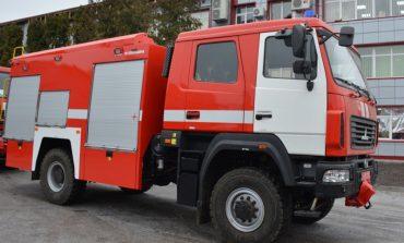 Ренийские пожарные получили новый специализированный автомобиль