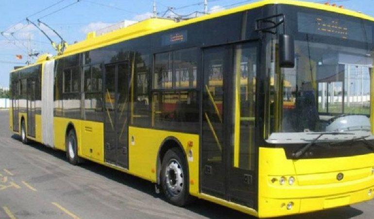 В Одессе изменяют схему движения троллейбусного маршрута № 14