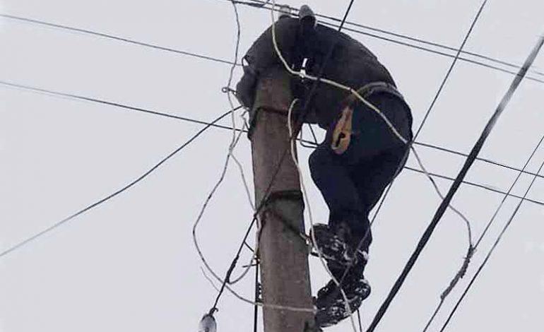 В селе Болградского района восстановили электроснабжение собственными силами