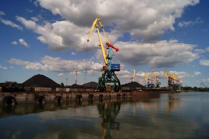 В январе Измаильский порт увеличил грузооборот на 10,6%