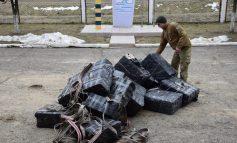 На украинско-румынской границе задержана рекордная контрабандная партия сигарет