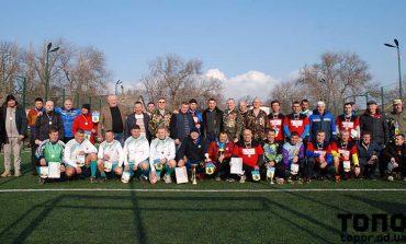 В Болграде на футбольное поле вышли ветераны