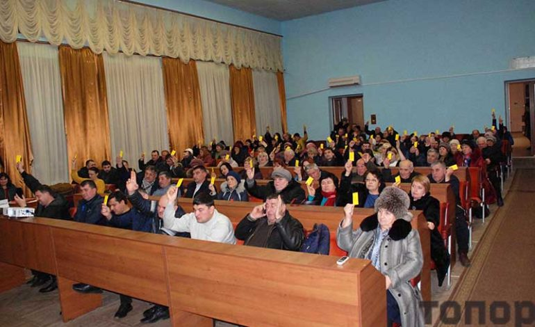 Жители Болграда поддержали идею создания ОТГ
