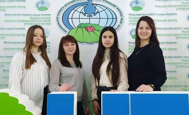 Ученицы Тарутинской школы стали призерами Всеукраинского конкурса изобретателей