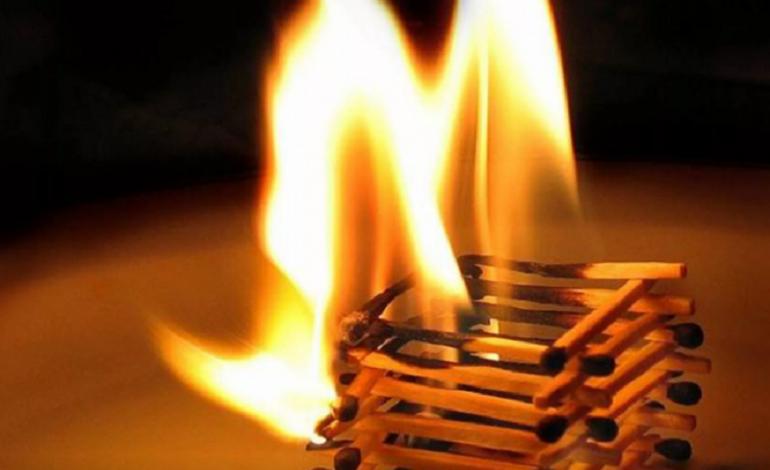 В Вилково горели два соседних дома