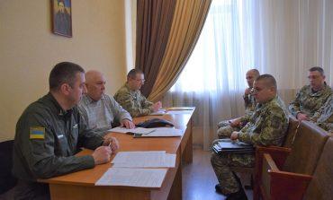 В Измаильском пограничном отряде состоялось офицерское собрание