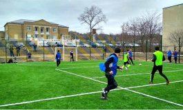 В селе Болградского района опробовали новую спортплощадку