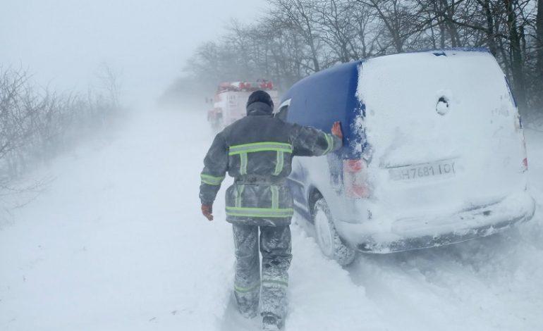 Саратский район: на автодороге Сарата-Кулевча два автомобиля снесло на обочину