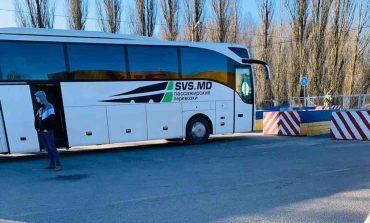 Украинские полицейские под конвоем сопроводили  до границы автобус молдавской компании