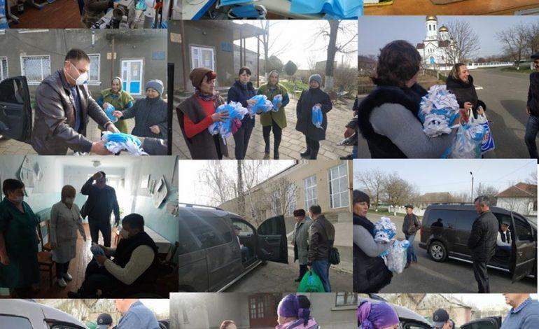 Ренийский мэр заказал производство 10 тысяч защитных масок, оплатил их за свой счёт и раздаёт бесплатно