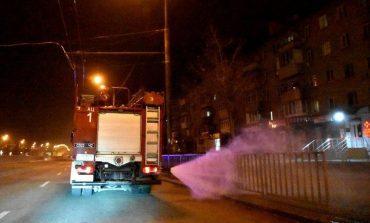 В Днепре ГосЧС провела санитарную обработку улиц города