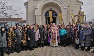 В Арцизе Торжество Православия отметили крестным ходом и коллективной молитвой