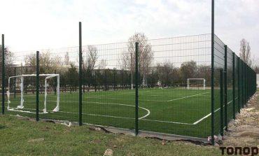 В Болграде появилась еще одна спортплощадка