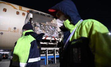 Украина получила от ОАЭ 10 тонн гуманитарной помощи для борьбы с коронавирусом