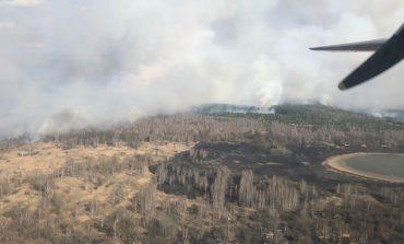 Пожар в зоне ЧАЭС распространился на территорию более 100 гектаров