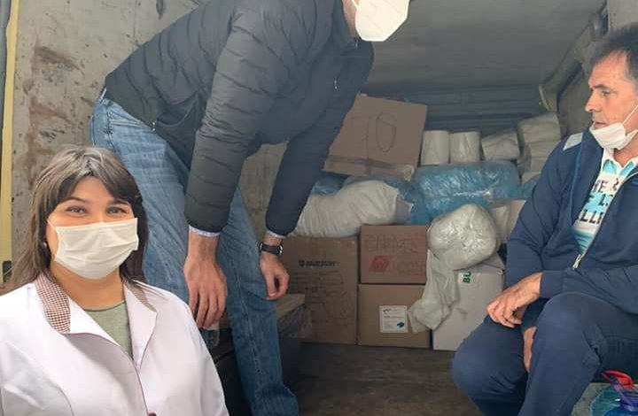 Сарата: «Корпорация монстров» доставила в инфекционное отделение больницы партию средств защиты
