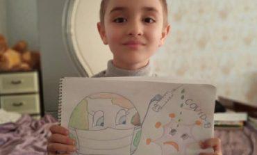 Дети Арцизского района активно поддерживают медиков в трудную минуту