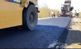 Ремонт трассы Тарутино – Арциз – Сарата: дорожники приступили к укладке выравнивающего слоя (видео)