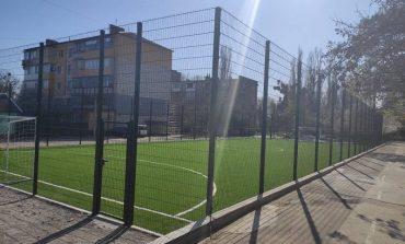 В Ренийском лицее построена новая спортивная площадка