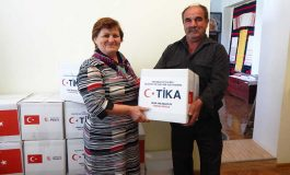 Жители села на юге Одесской области получили гуманитарную помощь из Турции