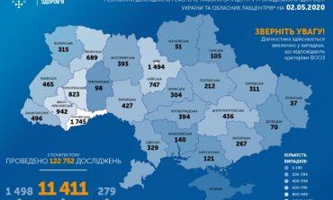 В Одесской области за сутки было обнаружено 33 новых случая заражения COVID-19, а в Украине — 550
