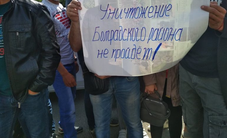 Не учли мнение людей: жители южных районов протестовали под стенами Одесской ОГА (фото)
