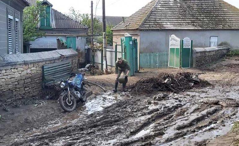 В село Болградского района дождь принес неприятности (фото)
