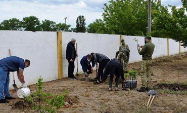 В пограничном отряде Белгорода-Днестровского появилась Аллея памяти Героев