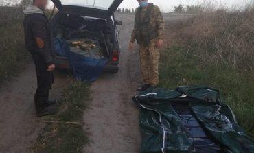 На озере Кагул интернациональный коллектив браконьеров наловил рыбы и попался с поличным