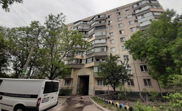 В Одессе женщина разбилась насмерть, спасаясь от пожара