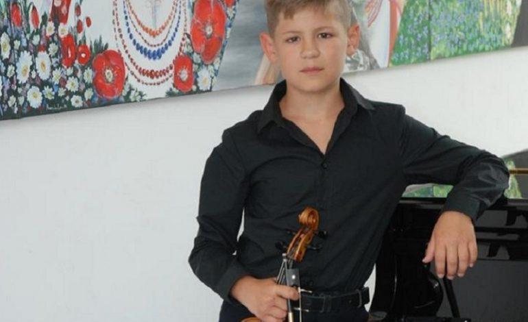Скрипач из Белгорода-Днестровского  стал стипендиатом Одесского облсовета