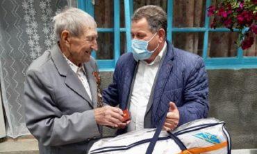 Арцизский горсовет поздравил ветеранов с Днем Победы (фото)