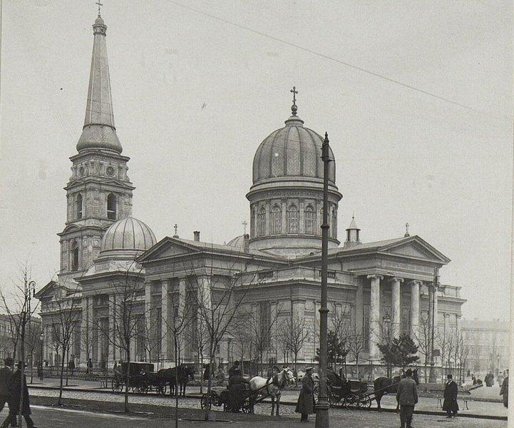 старый вид Преображенского собора