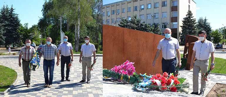 В Болграде почтили память жертв войны
