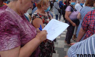 В Болграде протест предпринимателей закончился обращением главы РГА за помощью к руководителю области и начальнику полиции