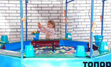 В Болграде в День защиты детей открыли площадку аттракционов
