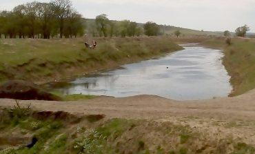 В местных реках Арциза наблюдается низкий уровень воды (фотофакт)
