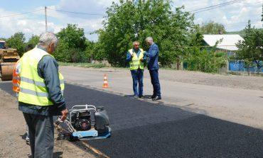 Ремонт в Тарутинском районе: на участке от Тарутино до Красного начали ремонт автомобильной дороги