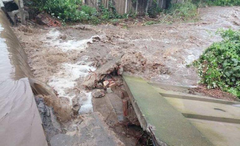 Последствия ливня: в Измаильском районе в одном  из сел подтоплено 16 подворий