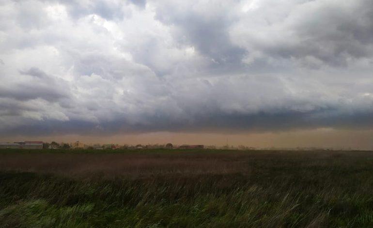 пылевая буря в Одесской области 1